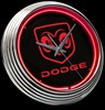 "Dodge Ram 15"" – Guaranteed bright and brilliant neon color! Quality Americana neon wall clocks for less. Full 1-5 year no hassle warranty."