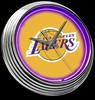 "LA Lakers 15"" – Guaranteed bright and brilliant neon color! Quality neon clocks and neon wall clocks for less. Full 1-5 year no hassle warranty."