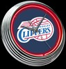 "LA Clippers 15"" – Guaranteed bright and brilliant neon color! Quality neon clocks and neon wall clocks for less. Full 1-5 year no hassle warranty."