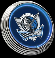 "Dallas Mavericks Neon Clock 15"" – Guaranteed bright and brilliant neon color! Quality neon clocks and neon wall clocks for less. Full 1-5 year no hassle warranty."