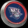 "New Jersey Nets 15"" – Guaranteed bright and brilliant neon color! Quality neon clocks and neon wall clocks for less. Full 1-5 year no hassle warranty."