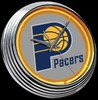 "Indiana Pacers 15"" – Guaranteed bright and brilliant neon color! Quality neon clocks and neon wall clocks for less. Full 1-5 year no hassle warranty."