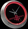 "Houston Rockets 15"" – Guaranteed bright and brilliant neon color! Quality neon clocks and neon wall clocks for less. Full 1-5 year no hassle warranty."