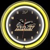 "Army DBL 14"" – Guaranteed bright and brilliant neon color! Quality neon clocks and neon wall clocks for less. Full 1-5 year no hassle warranty."