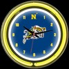 "Navy DBL 14"" – Guaranteed bright and brilliant neon color! Quality neon clocks and neon wall clocks for less. Full 1-5 year no hassle warranty."