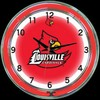 "Louisville DBL 18"" – Guaranteed bright and brilliant neon color! Quality neon clocks and neon wall clocks for less. Full 1-5 year no hassle warranty."