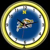 "Navy DBL 18"" – Guaranteed bright and brilliant neon color! Quality neon clocks and neon wall clocks for less. Full 1-5 year no hassle warranty."