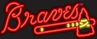Atlanta Braves Neon Sign