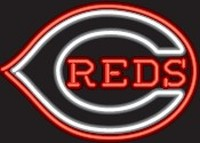 Cincinnatti Reds Neon Sign