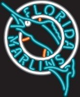Florida Marlins Neon Sign