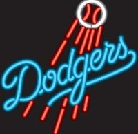 Los Angeles Dodgers Neon Sign