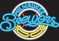 Milwaukee Brewers Neon Sign