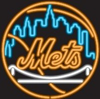 New York Mets Neon Sign