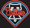Philadelphia Phillies – Guaranteed bright and brilliant MLB neon signs! Our MLB neon signs feature quality ½ diameter neon glass tubing and whisper quiet UL listed neon sign transformer. Full 1-5 year no hassle warranty.