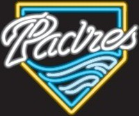 San Diego Padres Neon Sign