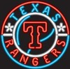 Texas Rangers – Guaranteed bright and brilliant MLB neon signs! Our MLB neon signs feature quality ½ diameter neon glass tubing and whisper quiet UL listed neon sign transformer. Full 1-5 year no hassle warranty.