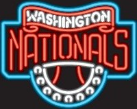 Washington Nationals Neon Sign