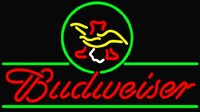 Budweiser Eagle Neon Beer Sign