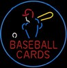 NEON Baseball Cards – Guaranteed bright and brilliant neon business signs! Our neon business signs feature quality ½ diameter neon glass tubing and whisper quiet UL listed neon business sign transformer. Full 1-5 year no hassle warranty.