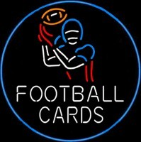 Football Cards Neon Sign – Guaranteed bright and brilliant neon business signs! Our neon business signs feature quality ½ diameter neon glass tubing and whisper quiet UL listed neon business sign transformer. Full 1-5 year no hassle warranty.