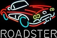 Corvette Roadster Neon Sign – Guaranteed bright and brilliant neon bar signs! Our neon bar signs feature quality ½ diameter neon glass tubing and whisper quiet UL listed neon bar sign transformer. Full 1-5 year no hassle warranty.