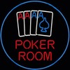 NEON Poker Room � Guaranteed bright and brilliant neon bar signs! Our neon bar signs feature quality ½ diameter neon glass tubing and whisper quiet UL listed neon bar sign transformer. Full 1-5 year no hassle warranty.