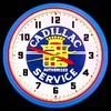 "Cadillac Service 20"" – Guaranteed bright and brilliant neon color! Quality Americana neon wall clocks for less. Full 1-5 year no hassle warranty."