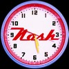 "Nash Motors 20"" – Guaranteed bright and brilliant neon color! Quality Americana neon wall clocks for less. Full 1-5 year no hassle warranty."