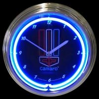 "Camaro RWB Neon Clock 15"" – Guaranteed bright and brilliant neon color! Quality neon clocks and neon wall clocks for less. Full 1-5 year no hassle warranty."